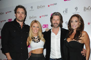(L-R) TV personalities Christian Rovsek, Gretchen Rossi, Slade Smiley and Lizzie Rovsek attend OK Magazine's So Sexy L.A. Event at LURE on May 21, 2014 in Los Angeles, California.