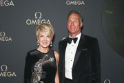 Julie Bishop and David Panton attends the OMEGA Golden Moments Gala at Fox Studios on August 20, 2019 in Sydney, Australia.
