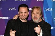 Yext EVP of Partner Jonathan Cherins and Mark Hamill attend the ONWARD17 Conference- Day 2 on November 2, 2017 in New York City.