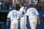 Russell Martin Chris Colabello Photos Photo