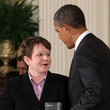 Janice Langbehn Obama Awards Presidential Citizens Medal At White House Ceremony