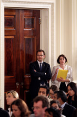 Gabrielle Bertin Obama Holds News Conference With British Prime Minister David Cameron