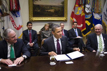 John Kline Obama Meets On Elementary And Secondary Education Act