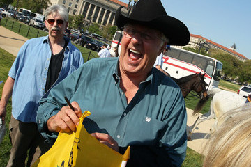 Dick Armey Obama Supporters Hold Counter-Rally To Tea Partiers