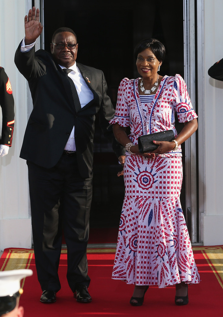 gertrude hendrina mutharika in the obamas host a white