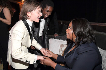 Octavia Spencer The Weinstein Company and Netflix Golden Globes Party Presented With FIJI Water
