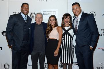 October Gonzalez 'Tribeca/ESPN Sports Film Festival Gala:Play It Forward' Premiere - 2015 Tribeca Film Festival
