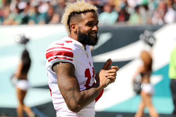 Odell Beckham Jr New York Giants v Philadelphia Eagles