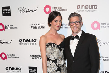 Odette Annable Arrivals at the Elton John AIDS Foundation Oscars Viewing Party — Part 4