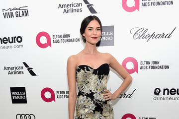 Odette Annable Arrivals at the Elton John AIDS Foundation Oscars Viewing Party — Part 3