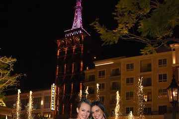 Odette Annable Odette Annable and Erin Cummings 'Go Pink' to Light The Americana at Brand's Spire to Support Breast Cancer Awareness Month