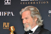 Jeff Bridges, recipient of the Cecil B. DeMille Award, attends the official viewing and after party of The Golden Globe Awards hosted by The Hollywood Foreign Press Association at The Beverly Hilton Hotel on January 6, 2019 in Beverly Hills, California.
