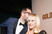 Eric White and Patricia Arquette attend the Official Viewing And After Party Of The Golden Globe Awards Hosted By The Hollywood Foreign Press Association at The Beverly Hilton Hotel on January 05, 2020 in Beverly Hills, California. (Photo by Rachel Luna/Getty Images)Patricia Arquette