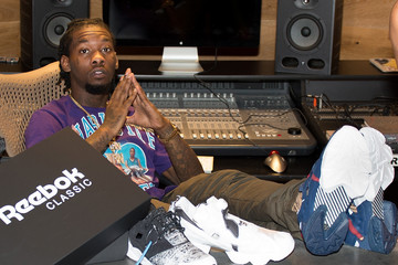 Offset Reebok Classic Hosts Exclusive Celebrity Gifting Lounge