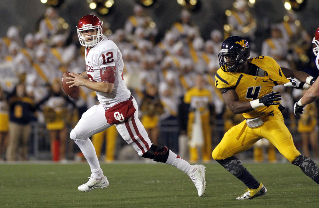 Landry Jones Photos Photos - Oklahoma v West Virginia - Zimbio