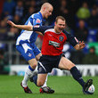 Dean Smalley Oldham Athletic v Huddersfield Town