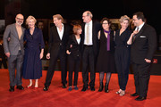 (L-R) Executive producer Steve Shareshian, author Elizabeth Strout, film cinematographer Frederick Elmes, screenwriter and procucer Jane Anderson, actor Richard Jenkins, director Lisa Cholodenko and actress Frances McDormand attend the 'Olive Kitteridge Part 3-4' - Premiere during the 71st Venice Film Festival on September 1, 2014 in Venice, Italy.
