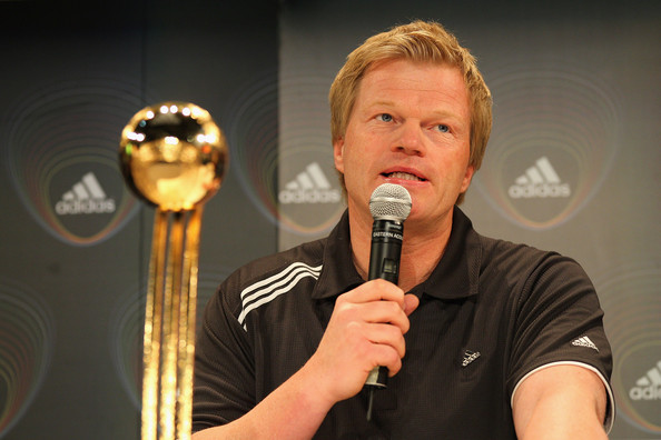 Oliver Kahn - Adidas Golden Ball Trophy-2010 FIFA World Cup