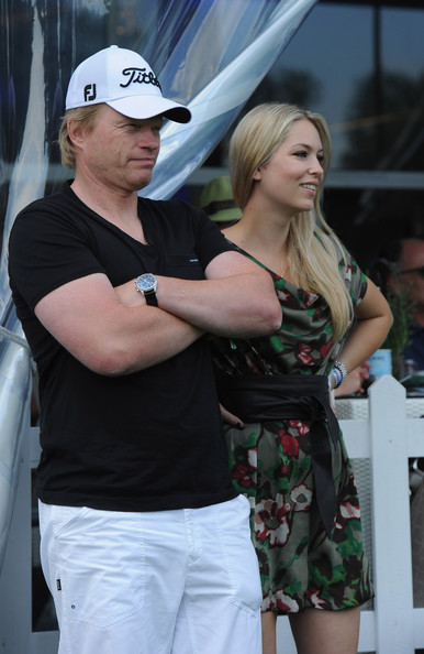 Oliver Kahn And Svenja Photos Photos Bmw International Open Day Four Zimbio