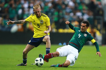 Oliver McBurnie Mexico v Scotland - International Friendly