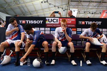 Oliver Wood TISSOT UCI Track Cycling World Cup - Day Two