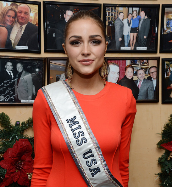 Olivia Culpo (EXCLUSIVE) Miss USA 2012 Olivia Culpo attends the Miss Universe Farewell party at Empire Steak House on November 26, 2012 in New York City.