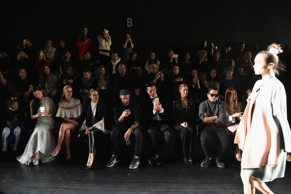 LANYU Fall/Winter 2017 Runway Show - Front Row