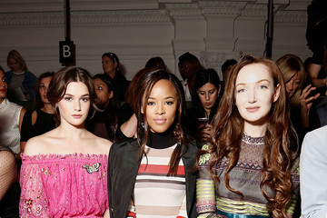 Olivia Grant Front Row & Arrivals - Day 3 - LFW September 2016