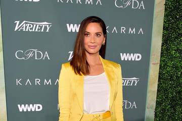 Olivia Munn Council of Fashion Designers of America, Variety and WWD Host Runway to Red Carpet - Arrivals