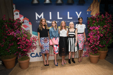 Olivia Palermo Milly For DesigNation Collection Launch