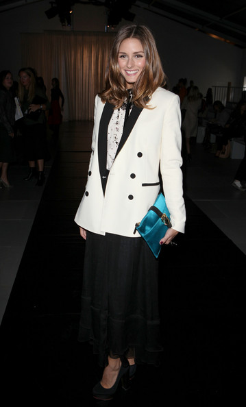 Olivia Palermo - Celebrities On The Front Row at London Fashion Week Spring/Summer 2012