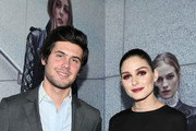 Alexandre Assouline and Olivia Palermo attend the Olivia Palermo Collection presentation during New York Fashion Week: The Shows on February 12, 2020 in New York City.