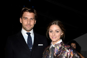 Olivia Palermo Johannes Huebl Valentino : Front Row  - Paris Fashion Week Womenswear Fall/Winter 2014-2015