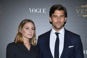 Olivia Palermo Johannes Huebl Irving Penn Exhibition Private Viewing Hosted by Vogue - Paris Fashion Week Womenswear S/S 2018