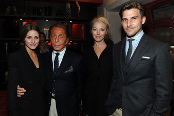 Olivia Palermo Johannes Huebl Giancarlo Giammetti Signs Copies of His New Book