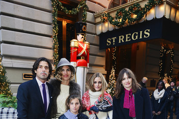 Olivia Palermo Nacho Figueras And St. Regis Hotels & Resorts Celebrate The Holiday Season