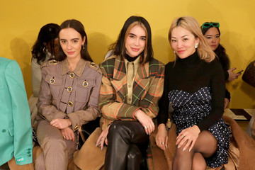 Olivia Perez Tory Burch Fall Winter 2020 Fashion Show - Front Row