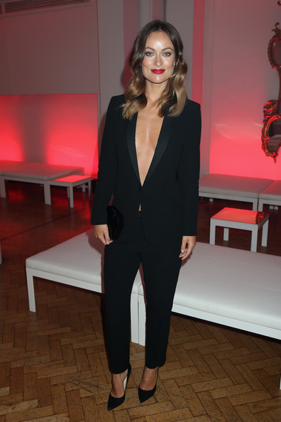 Celebs at the 'Rush' Afterparty — Part 2 [rush,suit,formal wear,blazer,fashion model,flooring,tuxedo,fashion,shoulder,outerwear,vision care,rush,olivia wilde,london,england,one marylebone,world premiere,party,movie world premiere,pary]