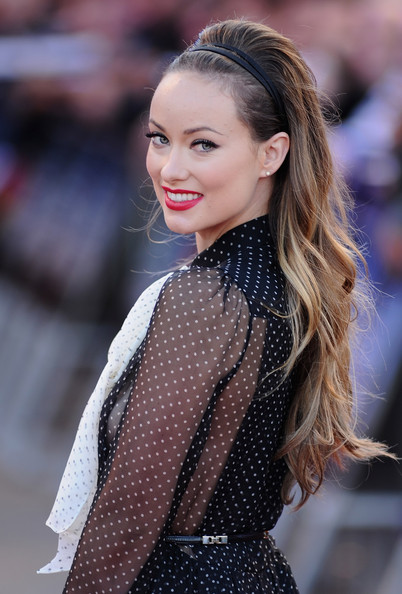 Olivia Wilde Actress Olivia Wilde attends the 'Cowboys and Aliens' UK film premiere at  the 02 Arena on August 11, 2011 in London, England.