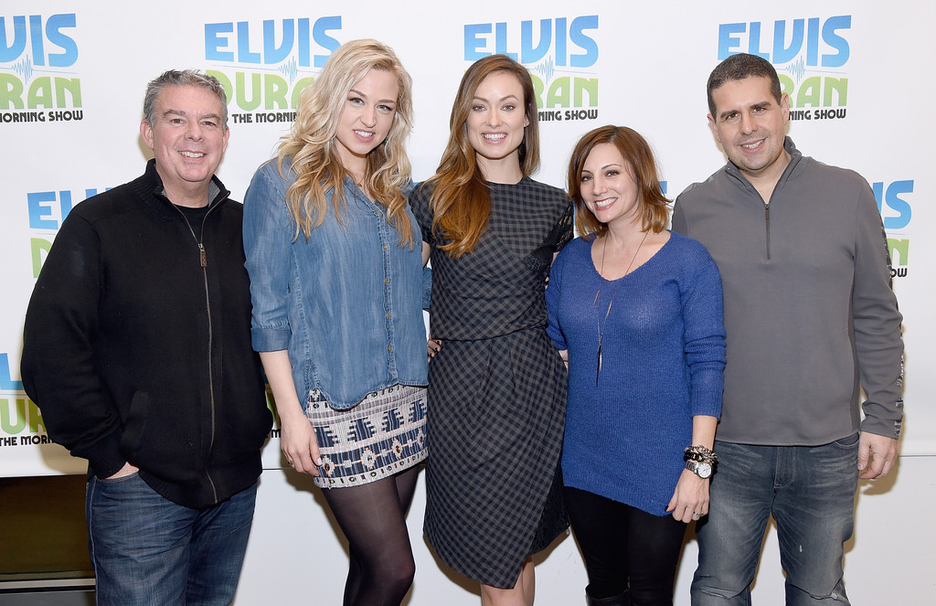 ... - Olivia Wilde Visits 'The Elvis Duran Z100 Morning Show' - Zimbio