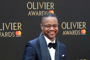 Cuba Gooding Jr. attends The Olivier Awards with Mastercard at Royal Albert Hall on April 8, 2018 in London, England.