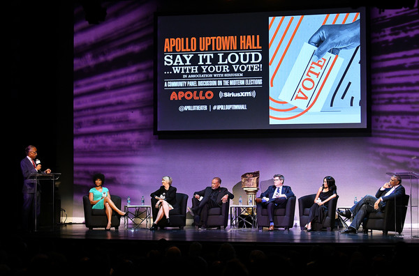 SiriusXM Broadcasts 'Say It Loud...With Your Vote' Midterm Election Special From The World Famous Apollo Theater On November 1, 2018 In New York City