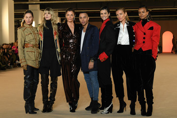 Olivier Rousteing Balmain: Runway - Paris Fashion Week Womenswear Fall/Winter 2020/2021