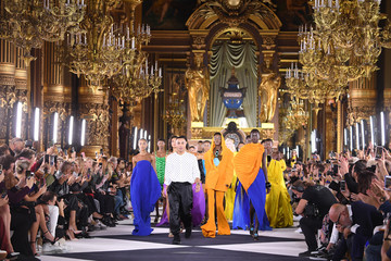 Olivier Rousteing Balmain : Runway - Paris Fashion Week - Womenswear Spring Summer 2020