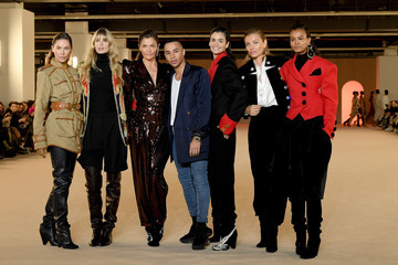 Olivier Rousteing Balmain : Front Row - Paris Fashion Week Womenswear Fall/Winter 2020/2021