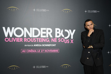 Olivier Rousteing 'Wonder Boy, Olivier Rousteing Ne Sous X' : Photocall At Assemblee Nationale In Paris