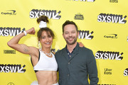 """Actors and co-writers Alexi Pappas and Nick Kroll attend the """"Olympic Dreams"""" premiere during the 2019 SXSW Conference and Festivals at ZACH Theatre on March 10, 2019 in Austin, Texas."""