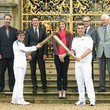David Thompson The Olympic Flame Continues Its Journey Around The UK