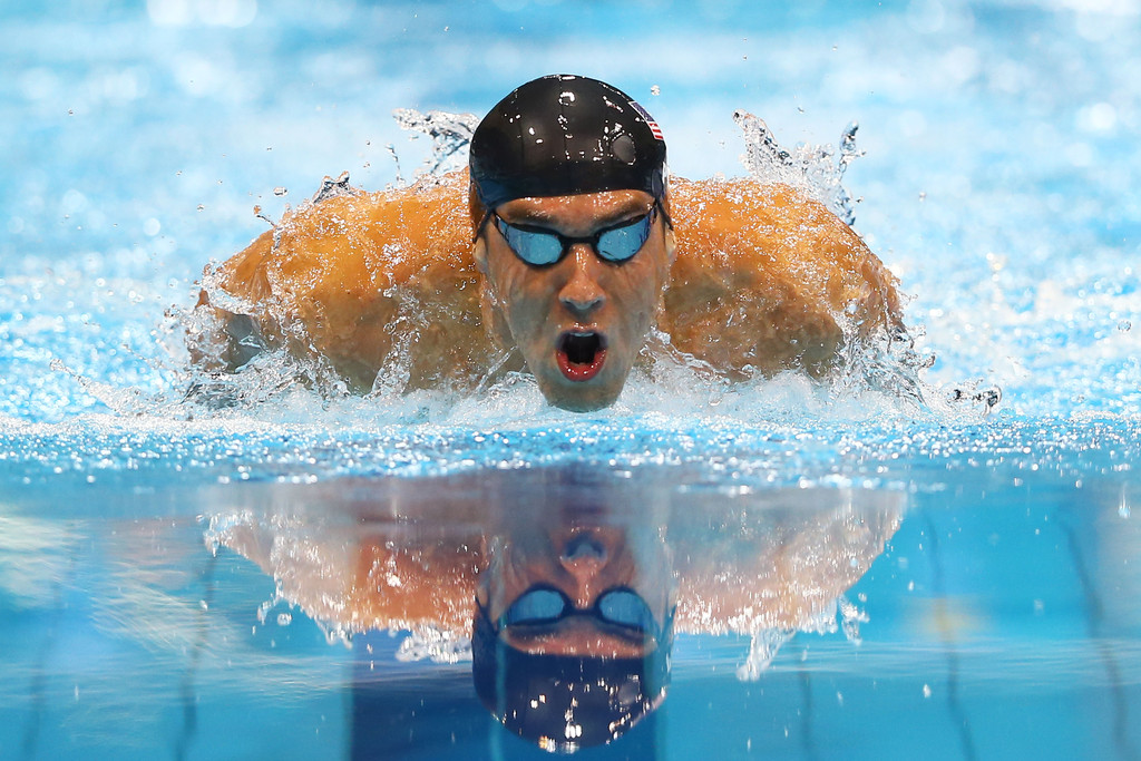 Michael Phelps Photos Photos - Olympics Day 1 - Swimming ...