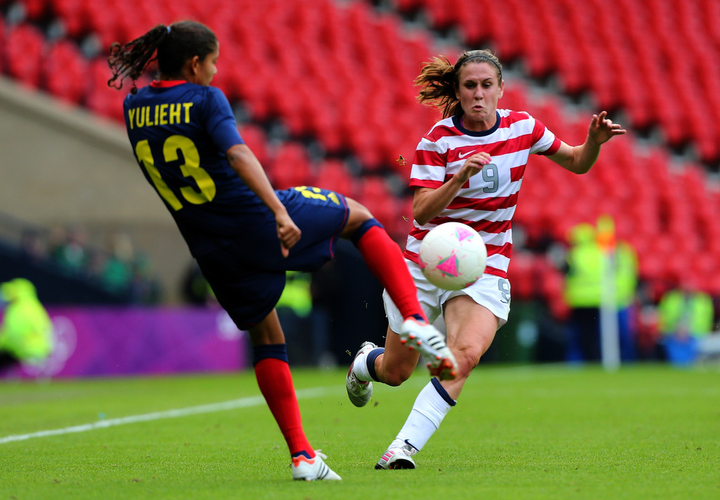 Olympics Day 1 Women S Football Usa V Colombia Zimbio
